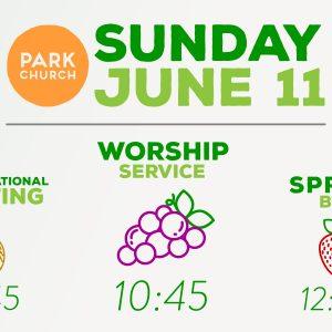 Sunday June 11 Happenings!