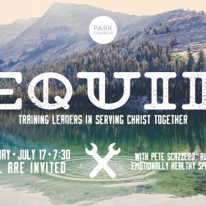 Equip: Training Leaders in Serving Christ Together