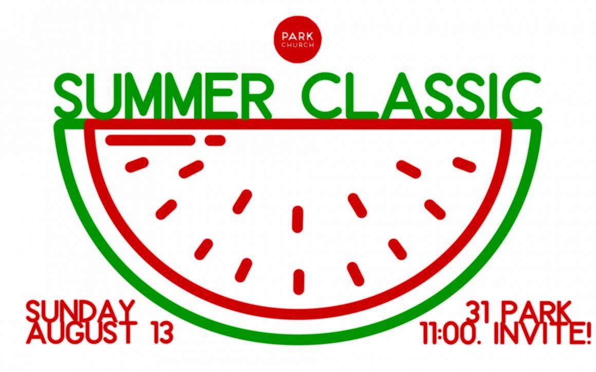 The Park Church Summer Classic returns!!!
