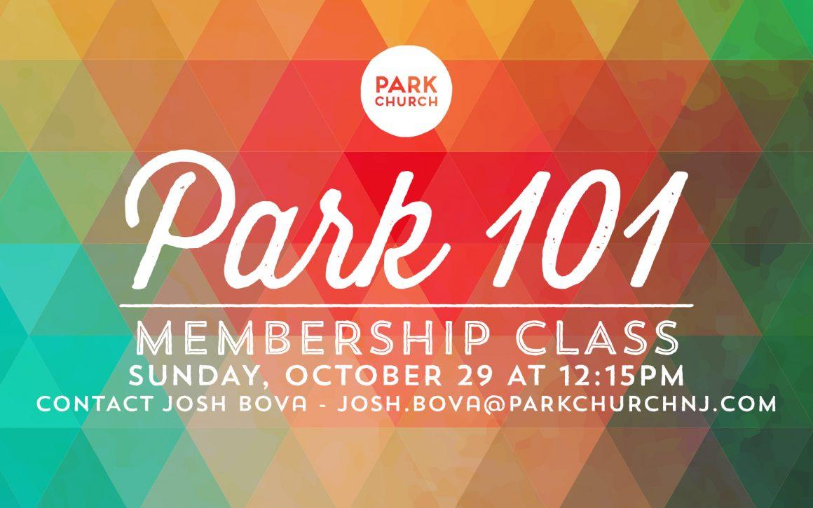 Park 101 Membership Class