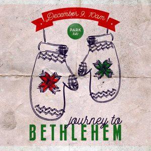 Hey Kids: Journey to Bethlehem with us!
