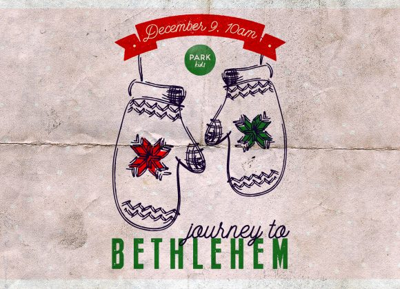 Hey Kids: Journey to Bethlehem with us!