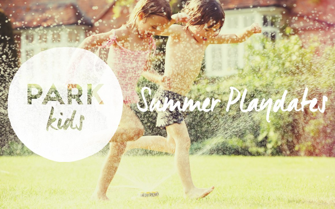 Park Kids Summer Playdates!