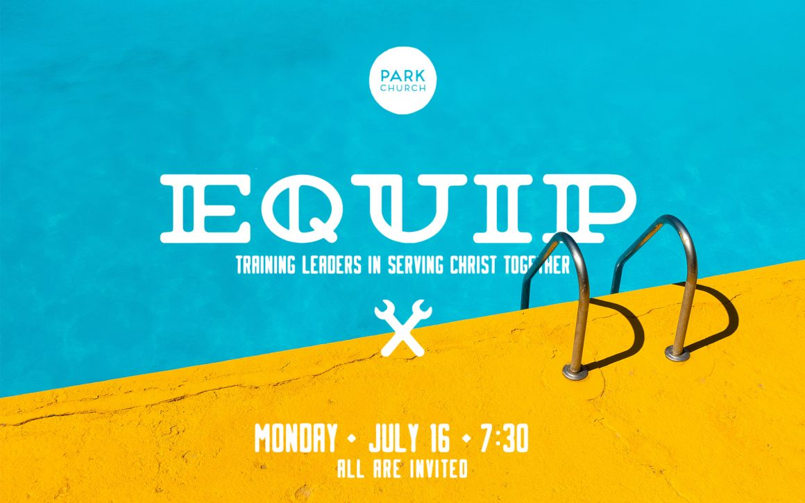 EQUIP: Monday July 16!