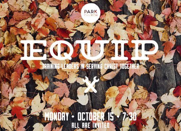 Equip: October 15