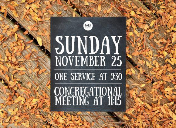 Sunday November 25 Times!