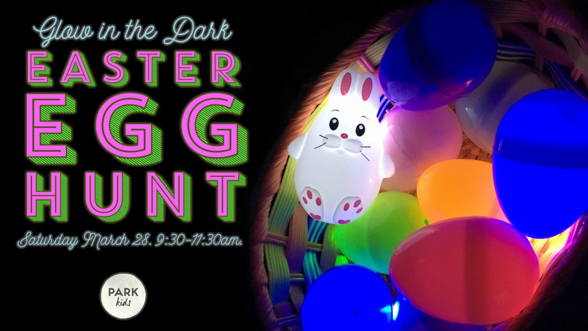 Park Kids Glow Egg Hunt!