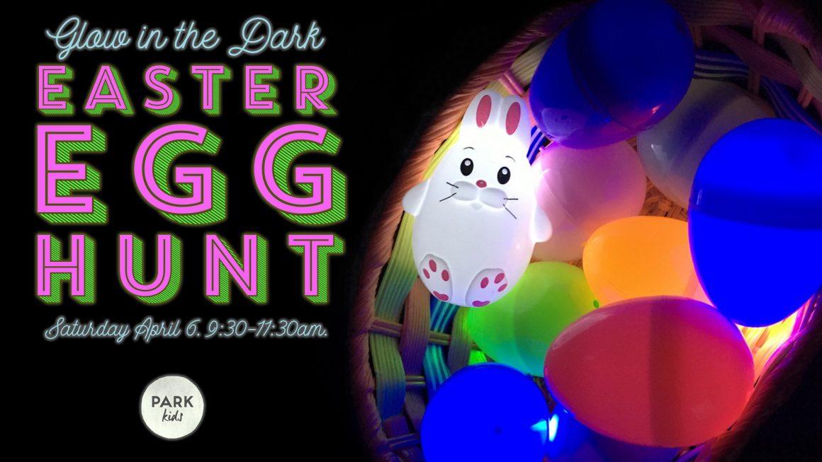 Park Kids Glow Egg Hunt!