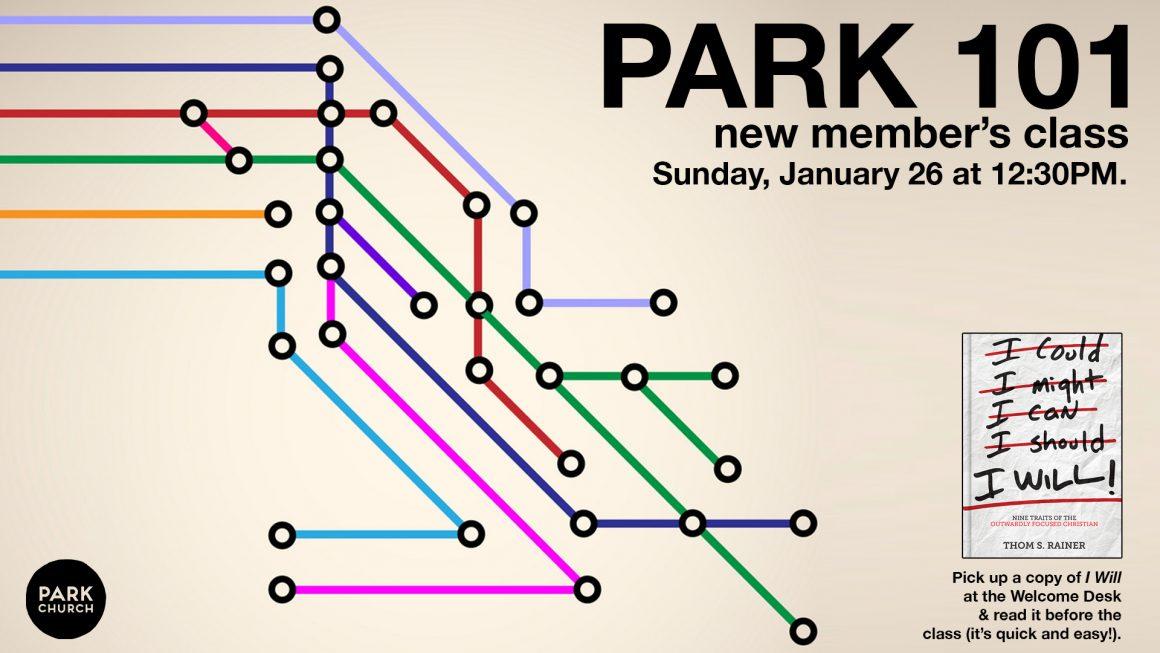 Park 101 New Member's Class