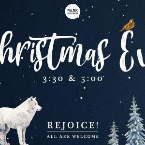 Christmas Eve at Park Church!