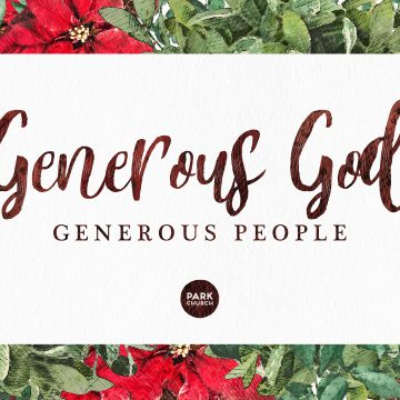 Generous God, Generous People