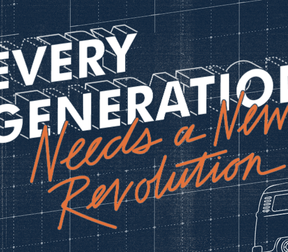 Every Generation Needs a Revolution: a reflection on the 2020 Orange Conference, and 1 Corinthians 13