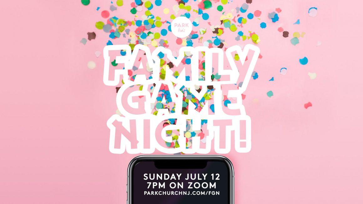 Park Kids Family Game Night!