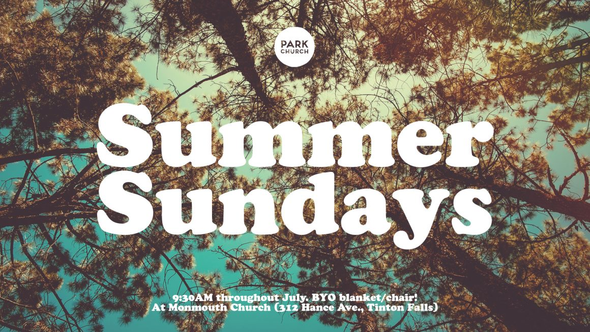 Summer Sundays, Outdoor Services