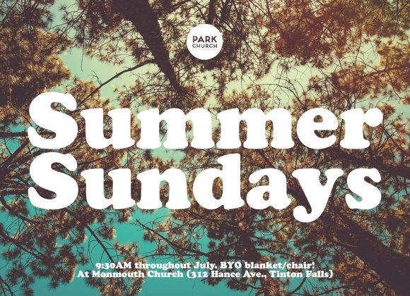 Summer Sundays, Outdoor Services