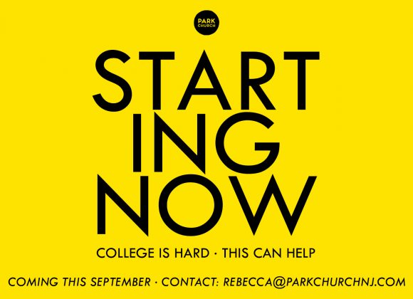 College students: STARTING NOW, starting in September!