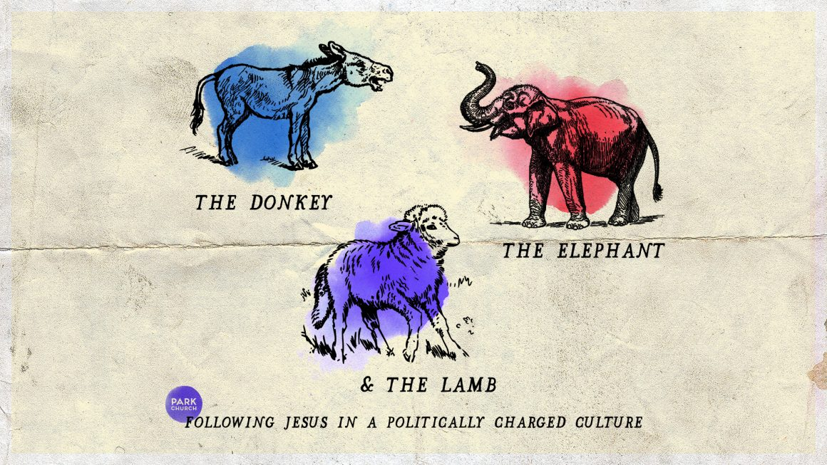 The Donkey, the Elephant, and the Lamb