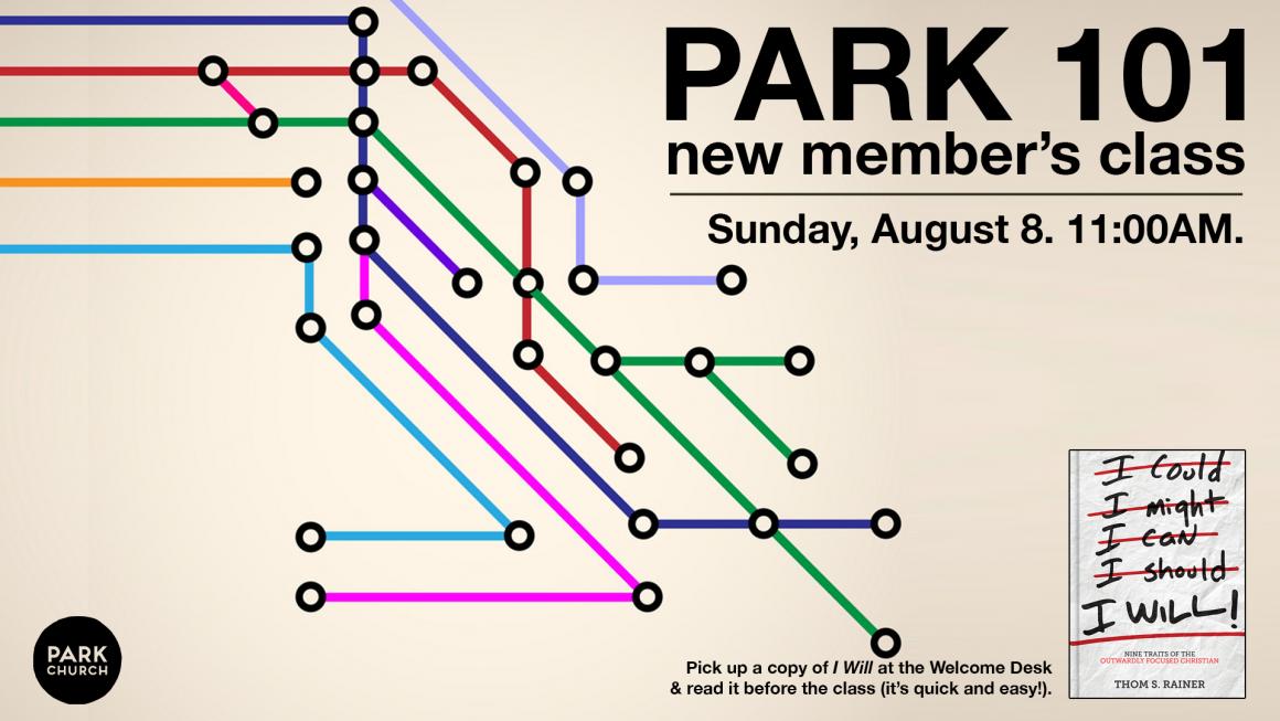 Park 101: New Members Class