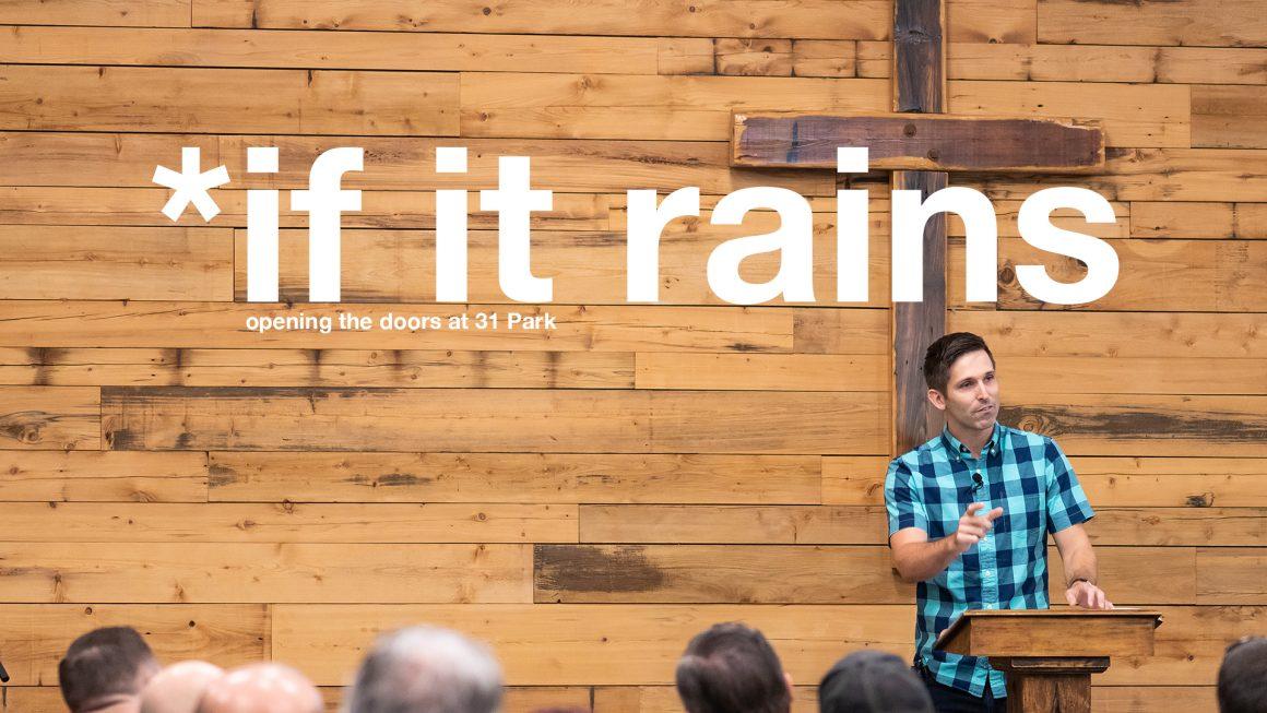 If it rains on Sunday…